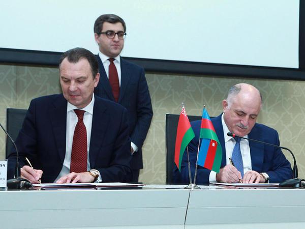Azərbaycan-Belarus biznes-forumu keçirildi - FOTO