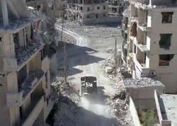 İŞİD-dən azad edilmiş Rakkanın xarabalıqlarının görüntüsü yayıldı - VİDEO