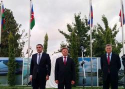 Azərbaycan-Rusiya sərhədində yeni körpü tikilir - FOTO