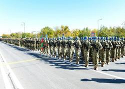 Naxçıvanda hərbi parad - FOTO