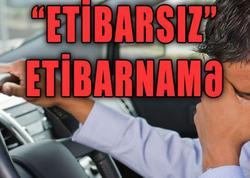 "Avtomobil alanda diqqətli olun: ""ETİBARSIZ"" ETİBARNAMƏ - VİDEO"