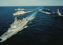 NATO gəmiləri Gürcüstan sahillərinə gəldi