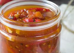 Pomidorlu bibər turşusunun RESEPTİ