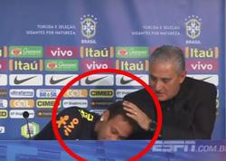 Neymar baş məşqçisinin sözlərindən sonra göz yaşlarını saxlaya bilmədi - VİDEO - FOTO