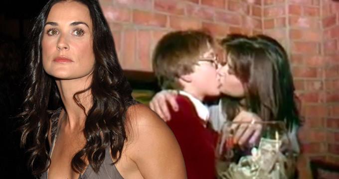 Aktrisanın 15 yaşlı oğlanla öpüşərkən çəkilən görüntüsü yayıldı - VİDEO - FOTO