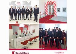 Kapital Bank-ın yenilənən Gədəbəy filialı istifadəyə verildi