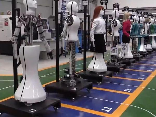 Türkiyədə bir ilk: robotlar insanları əvəz edəcək - VİDEO - FOTO
