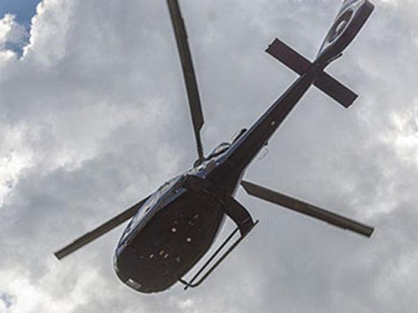 Böyük Britaniyada heikopter uçan aparatla toqquşub