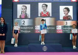 İdman və akrobatika gimnastikası üzrə Azərbaycan çempionatlarının ikinci günün qalibləri mükafatlandırılıb - FOTO