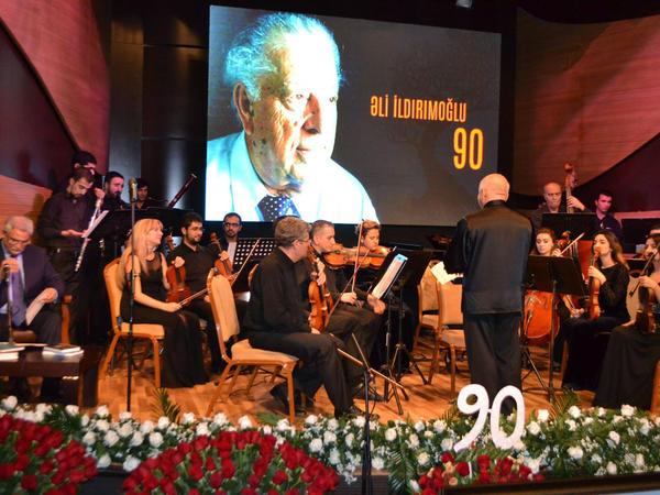Beynəlxalq Muğam Mərkəzində Əli İldırımoğlunun 90 illik yubileyi qeyd olundu - FOTOLAR