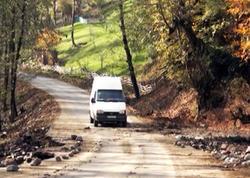 Astarada qaya parçaları və palçıq tökülən yol təmizləndi - YENİLƏNİB - VİDEO
