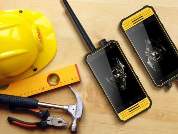 Nomu T18 smartfonu ratsiya rejimində işləyir