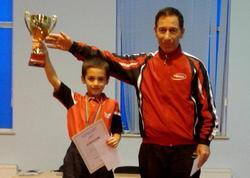 9 yaşlı azərbaycanlı şagird 4 qat çempion oldu - FOTO