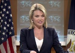 ABŞ sözçüsü Türkiyə prezidentinin ittihamına cavab verdi