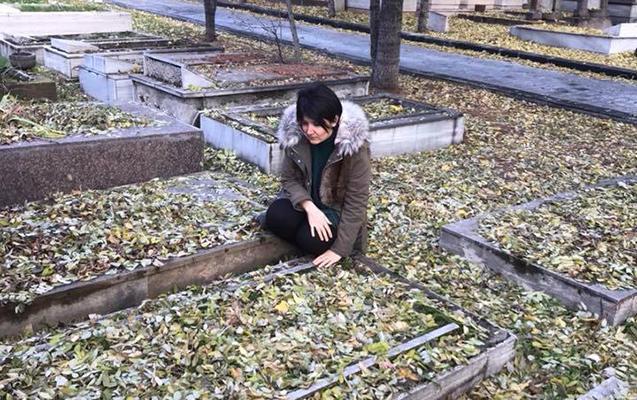 Rəsulzadənin xanımının məzarı tapıldı - FOTO
