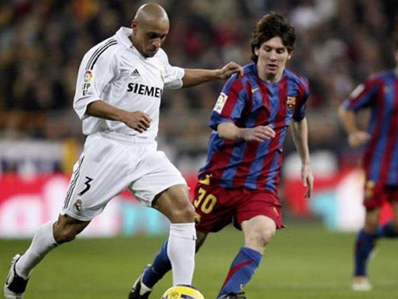 Messi Karlosa çatdı