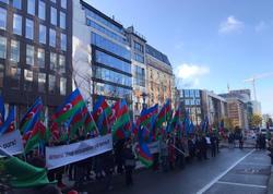 Avropadakı azərbaycanlılar Brüsseldə aksiya keçirdilər - FOTO