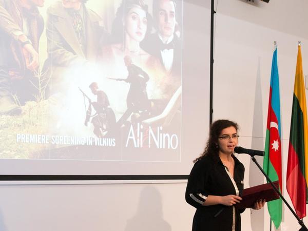 """Litvada """"Əli və Nino"""" filminin təqdimatı olub - FOTO"""