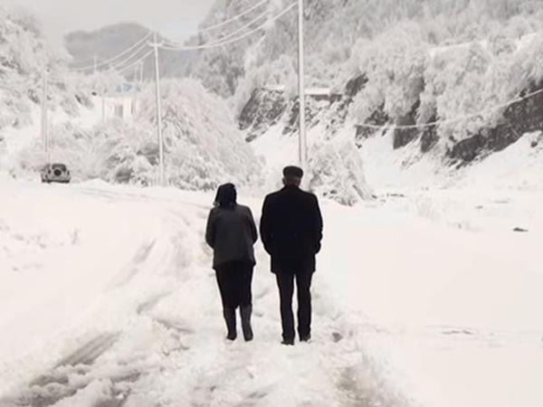 Azərbaycana 40 santimetr qar yağıb - VİDEO - FOTO