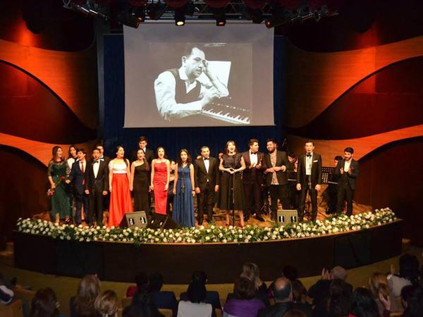 Tofiq Quliyevin 100  və Emin Sabitoğlunun 80 illik yubiley gecəsinə həsr olunmuş konsert keçirildi - FOTO