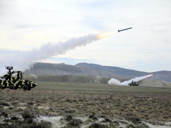 Hərbi Hava Qüvvələrinin taktiki təlimləri keçirildi