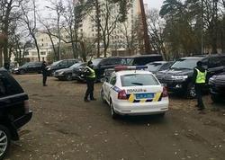 Kiyevdə polis kafedə güllələndi