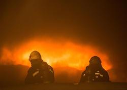 Dağıstanda üç ev və məscid yanıb