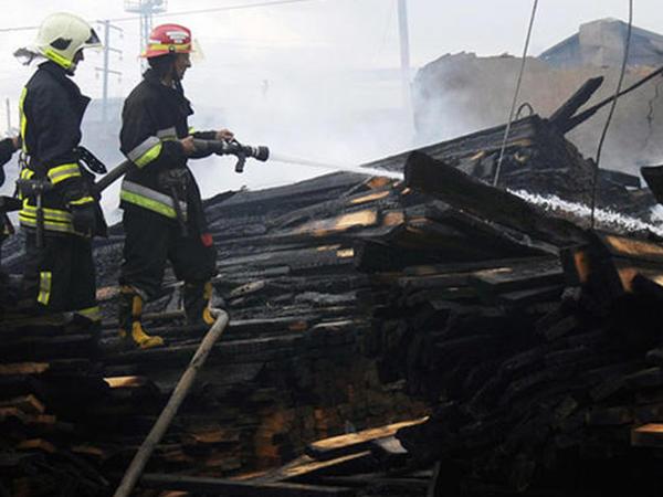 Ağdamda 53 yaşlı kişi evində diri-diri yandı