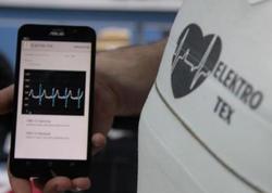Ürək ritmini ölçən smart köynək