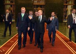 Putin Ərdoğanla görüşündən danışdı