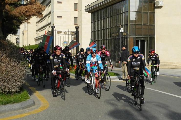 Bakıda yeni velosiped idmanı klubu yaradıldı -
