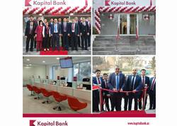 Kapital Bank-ın yenilənən Ağcabədi filialı istifadəyə verildi