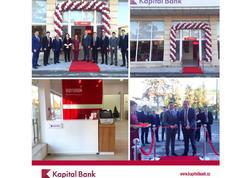 Kapital Bank-ın yenilənən Ucar filialı istifadəyə verildi