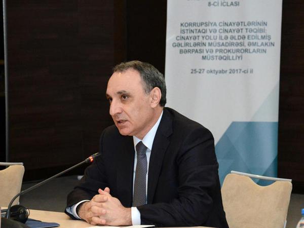 """Kamran Əliyev: """"Korrupsiyaya görə 53 vəzifəli şəxs intizam məsuliyyətinə cəlb edilib"""""""