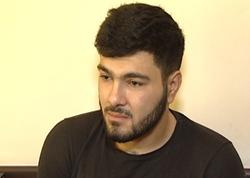 """Bakıda 7 maşın qaçırıb hissələrlə satan """"zek"""" tutuldu - FOTO"""