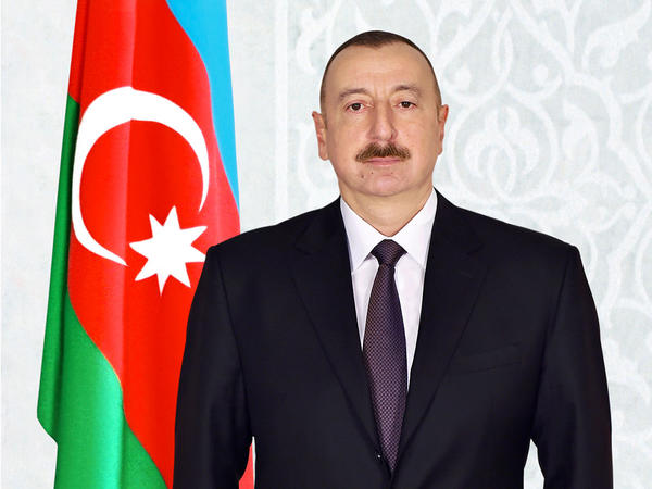 """Prezident İlham Əliyev Laura Mattarellanı """"Şöhrət"""" ordeni ilə təltif edib"""