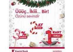 Kapital Bank-la özünü sevindir!