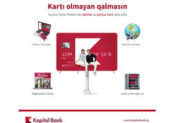 Kapital Bank-dan hamıya pulsuz kart