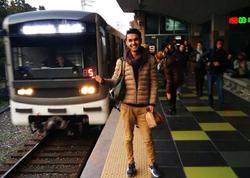 """Metroda özünü öldürən gənc: """"Metro mənim sevgimdir, ən böyük sevgim"""" - FOTO"""