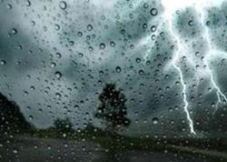 Şimşək çaxacaq, yağış yağacaq - HAVA PROQNOZU