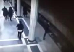 Bakı metrosunda özünü qatarın altına atan gənc görün kimin oğlu çıxdı - VİDEO