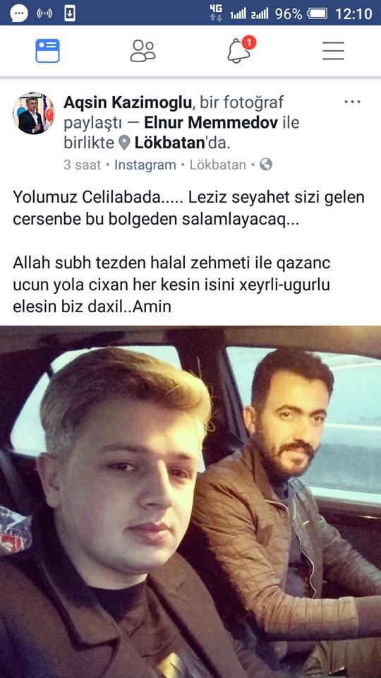 Azərbaycanda televiziyanın çəkiliş qrupu qəzaya düşdü - FOTO