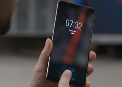 Ekranda barmaq skanerli smartfon satılacaq - VİDEO