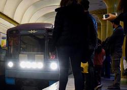 """""""Elmlər Akademiyası"""" stansiyasına gələn qatar geri, """"Nizami""""yə qayıtdı - <span class=""""color_red"""">Metroda nə baş verir? - AÇIQLAMA</span>"""