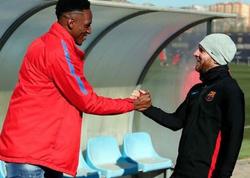Messi yeni komanda yoldaşı ilə görüşdü - FOTO