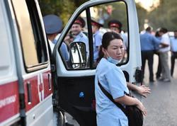 Qırğızıstanda avtomobil qəzası: 4 ölü, 3 yaralı