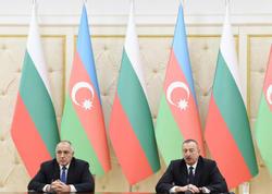 Azərbaycan Prezidenti və Bolqarıstanın Baş naziri mətbuata bəyanatlarla çıxış ediblər - YENİLƏNİB - FOTO