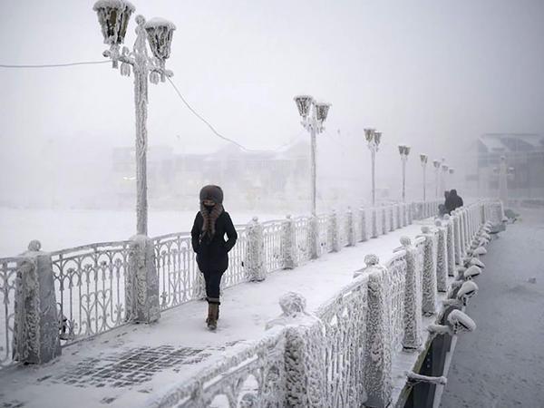 Dünyanın ən soyuq kəndi: -71 dərəcə - FOTO