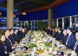 Prezident İlham Əliyev və xanımı Baş nazir Boyko Borisovla birgə şam ediblər - FOTO