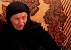 Ramzan Kadırov Goranboyda tapılan 104 yaşlı qadına ev verdi - VİDEO